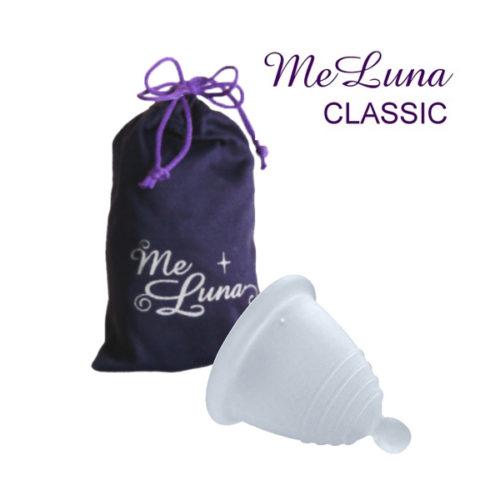 Менструальная чаша Мелуна коротышка классическая с шариком фото