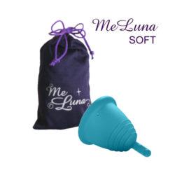 Менструальная чаша Мелуна коротышка мягкая со стеблем фото