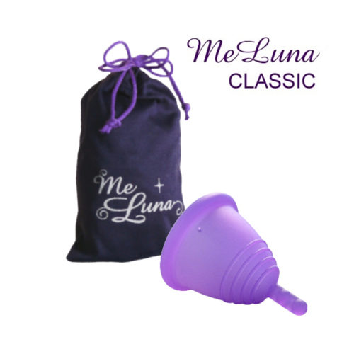 Менструальная чаша Мелуна коротышка классическая со стеблем фото