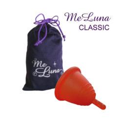 Менструальная чаша Мелуна классическая со стеблем фото